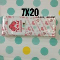 Plastik PE Tomat 7x20 - Plastik Es Gula Minyak Santan