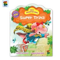 Buku cerita anak - seri keluarga dino - super trinil - bestari kids