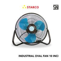 Starco Industrial Oval Fan 10 Inci SPF-101S - Hitam