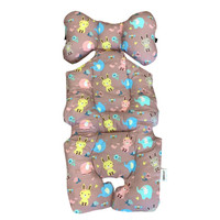 Paopao - Stroller Liner BUNNY AND FRIENDS PINK