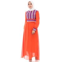 FAME Fashion Gamis 9910437 Orange