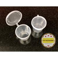 Tempat Saus SAUCE 25ml / Cup Sambal / Thinwall Sauce cup (50set)