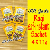 Ragi Saf Sachet 4 x 11 gr Saf Instant Instan Dry Yeast Ragi Kering