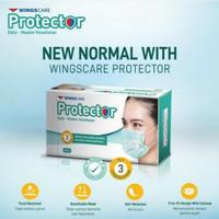 Masker Wings Care Protector 3 Ply Isi 50 pcs Earloop