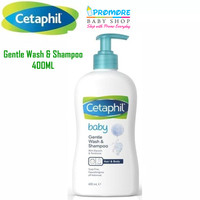 Cetaphil Baby 2in1 Gentle Wash & Shampoo 400 ml