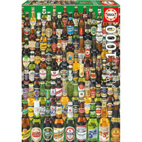 [READY] EDUCA - BEERS PUZZLE 1000 PCS KOTAK UNPERFECT