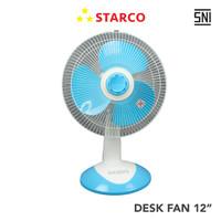 Starco Desk Fan 12 Inci SCD-1201A - Biru Muda