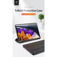 [PAKET] Samsung Tab S7 Plus/S7 DOMO Smart Case + MOCOLO Tempered Glass