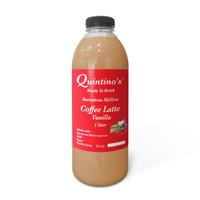 Quintinos Coffee Latte Vanilla 1 liter(khusus Kurir instant & Sameday)