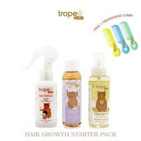 Tropee Bebe - Hair Growth Starter Pack (Free Sisir Bayi)