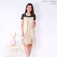 Vanna Dress Standar - Dress Batik Wanita Terusan Wanita