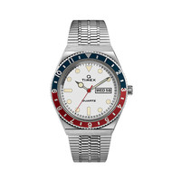 Q Timex Diver inspired SST Case White Dial SST Band - TW2U61200