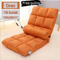 kursi tatami import/lazy sofa/kursi malas/kursi sandar / kursi lesehan - Orange