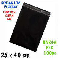 Kantong Plastik Lem Polymailer Ukuran 25x40 cm 100 Pcs