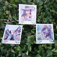 Cetak Foto Polaroid 9x8 cm - 20/40/60 Lembar / Tebal dan Glossy - 20 Foto