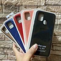 Back Cover Case Denim Canvas Samsung Galaxy M31