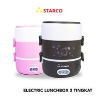 Starco Electric Lunchbox 2 Tingkat SRC-202 - Merah Muda