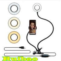 Ring Light Selfie Portable Midio Dengan Holder U Zoom Conference Call