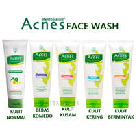 ACNES Natural Care Face Wash Yogurt Touch / Cuci Muka Berjerawat 100gr