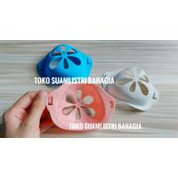Penyangga Masker Silicone Premium 3D Pelengkap Masker Halus Nyaman