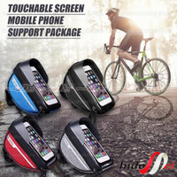 tas sepeda waterproof B SOUL touchscreen Holder HP bag bike MTb seli