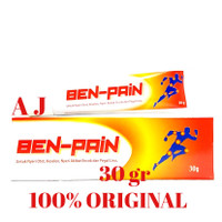 Ben-Pain ~ Untuk Nyeri Otot, Keseleo,Encok dan Sakit Pinggang