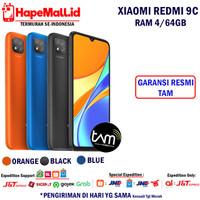 XIAOMI REDMI 9C RAM 4/64GB GARANSI RESMI XIAOMI INDONESIA TERMURAH
