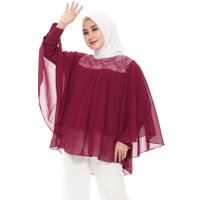 FAME Fashion Tunik 9900371 Maroon