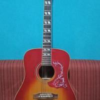 gitar akustik elektrik merek gibson free softcase sarung gitar