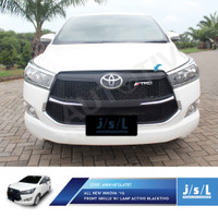 JSL Grille All New Innova Reborn Lis Grill Depan Hitam Activo W/Lamp