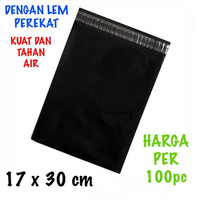 Kantong Plastik Lem Polymailer Ukuran 17x30 cm 100 Pcs