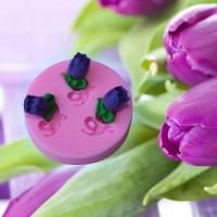 cetakan silikon bunga tulip