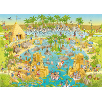 [READY] HEYE - FUNKY ZOO, NILE HABITAT 1000 PCS KOTAK UNPERFECT