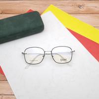 kacamata minus paket photocromic - Hitam silver