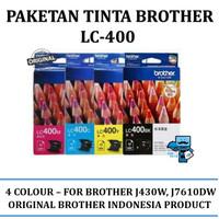Paketan Tinta Brother LC-400 / LC 400 - Original Product
