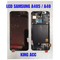 LCD TOUCHSCREEN FRAME SAMSUNG GALAXY A40 A405 FULLSET ORIGINAL