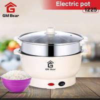 GM Bear Panci Listrik Serbaguna 20cm 1225-Multi Electric Pot 20cm