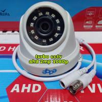 Kamera CCTV Indoor EDGE AHD Asli 2MP 1080P Camera Sudut lebar - Putih
