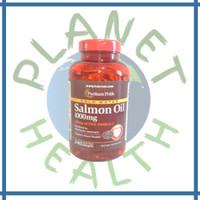 Puritan Pride Omega-3 Salmon Oil 1000 mg (210 mg Active Omega-3) 240 s
