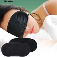 Penutup mata Katun Bambu 3D Premium Arang Bambu