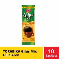 KOPI GILUS MIX GULA AREN 1 RENCENG / TORABIKA GILUS MIX 10 SACHET
