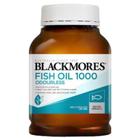 Blackmores Odourless Fish Oil 1000mg 400 kapsul