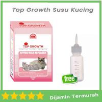 Top Growth Kitten Milk Replacer 250gr susu kucing kitten Free Dot