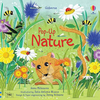 Usborne Pop Up Nature. Buku Anak Import