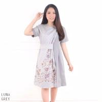 Luna Dress - Dress Batik Wanita Terusan Wanita