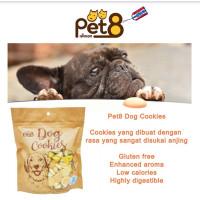 Pet8 - 300g Dog Cookies biscuit untuk anjing