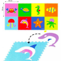 Puzzle Matras - Evamat - Matras Lantai Bermain Anak