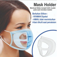 Penyangga masker silikon