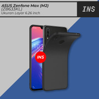 Casing Darknight Asus Zenfone Max (M2) / ZB633KL Slim Case Black Soft