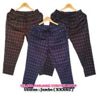 Celana Panjang Stretch Motif XXXXL ( JUMBO )